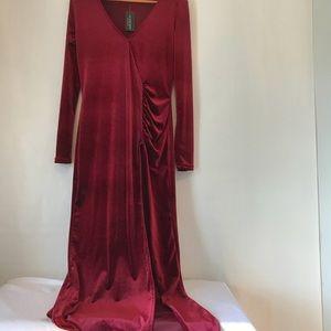Dresses & Skirts - Long  Burgundy Dress